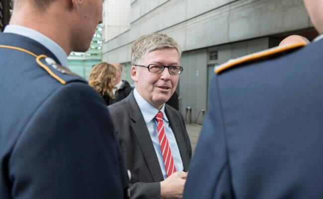 Der Wehrbeauftragte Hans-Peter Bartels // Foto: Deutscher Bundestag / Marco Urban