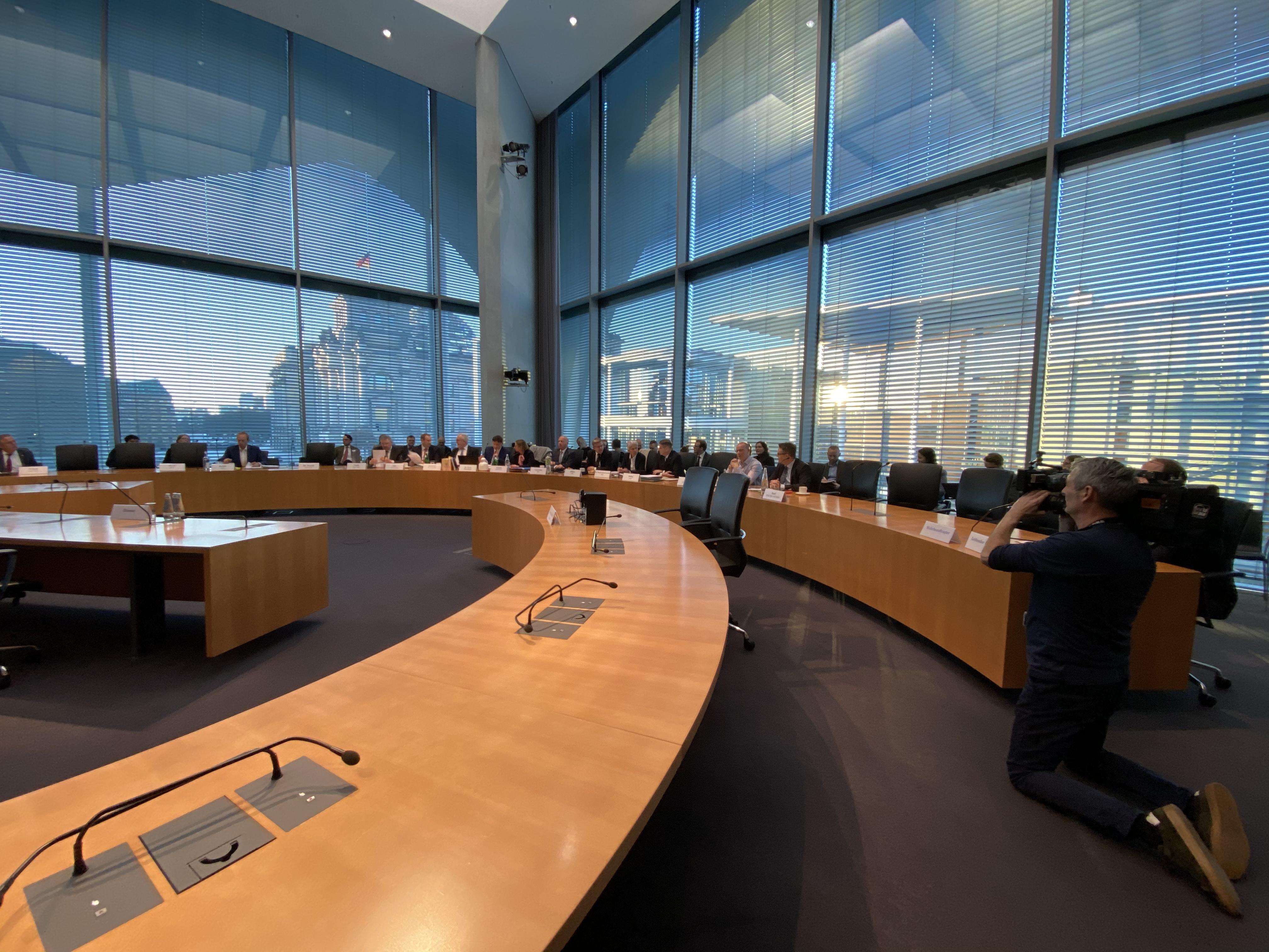 Sitzungssaal am 13. Februar 2020 MELH